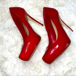 Aldos Red pumps size 6, 36